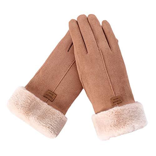 JURTEE Damen Touchscreen Handschuhe Winter Warm Handschuhe Empfohlen Wählen