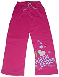 GIRLS LOUNGE PANTS BOTTOMS PYJAMAS JUSTIN BIEBER