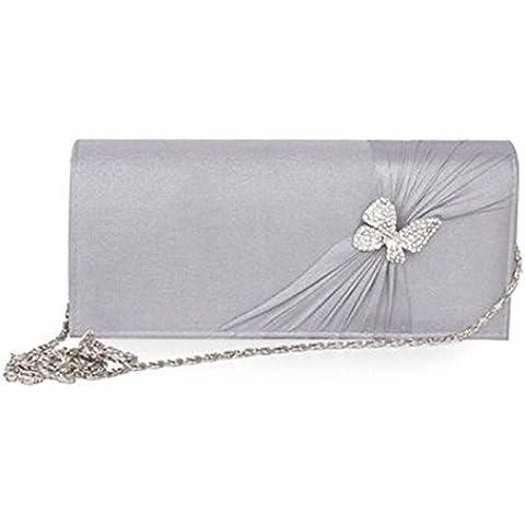LTT, Poschette giorno donna argento (Shiny Silver Beads)