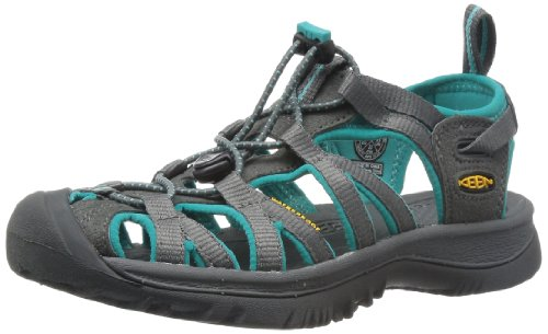 Keen Whisper, Women Multisport Outdoor Shoes, Grey (Dark Shadow/Ceramic), 8 UK (41 EU)