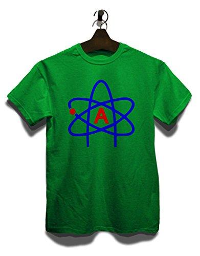 Atheist Symbol T-Shirt Grün