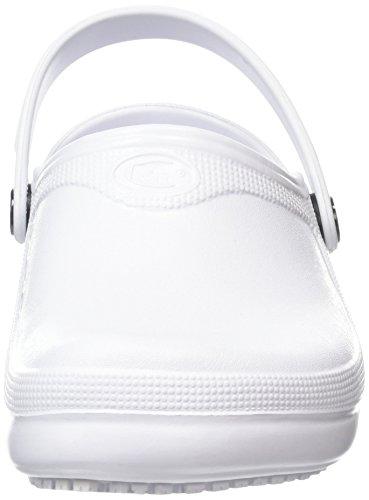Shoes for Crews Froggz Classic 2, Scarpe da Lavoro Unisex – Adulto Bianco (Weiß)
