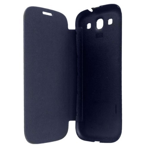Generic Flip Cover Case For MICROMAX CANVAS A120 (Black)