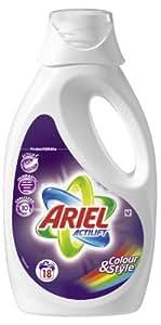 Ariel Flüssig Color und Style, 18 Waschladungen, 4er Pack (4 x 18 Waschladungen)