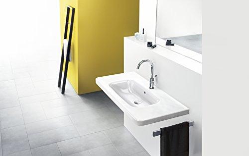 Hansgrohe – Einhebel-Waschbeckenarmatur, mit Zugstangen-Ablaufgarnitur, Chrom, Serie Logis 210 - 2
