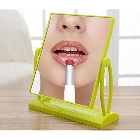 XYXY Espejo para maquillarse Moda minimalista escritorio cara espejo de vanidad . l . green