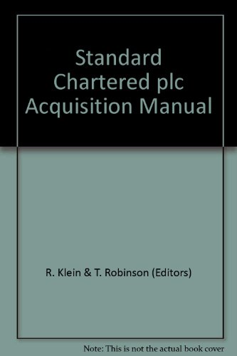 standard-chartered-plc-acquisition-manual