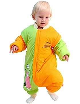 Chilsuessy Baby Winterschlafsack Schlafsack mit Füssen ganz soft und warm kleine Kinder Ganzjahres Winter Schlafsack...