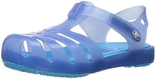 Crocs 204035, Flip-Flop Sandales Fille Bleu (Dusty Blue)