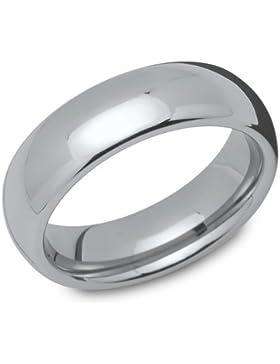 Glänzender Wolframring - Tungsten - robust TUR0008