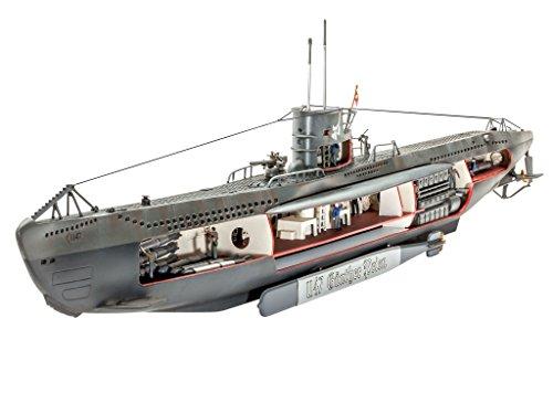 revell-05060-german-submarine-u-47-with-interior-kit-di-modello-in-plastica-in-scala-1125