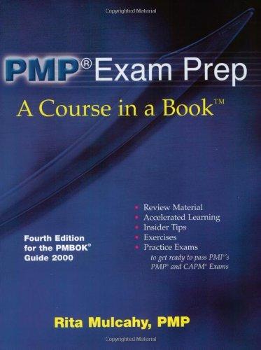 Pmp entertainment le meilleur prix dans amazon savemoney pmp exam prep w cd rom fandeluxe Image collections