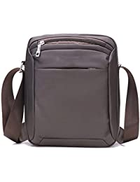 3370b8b139b2b MLpus American Style Schultertasche Herren Business Reise Handtasche Casual  Fashion Messenger Bag Nylon Wasserdicht Tasche braun