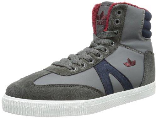 Lico  Casual Winter,  Sneaker a collo alto bambina Grigio (Grau (anthrazit/bordeaux))