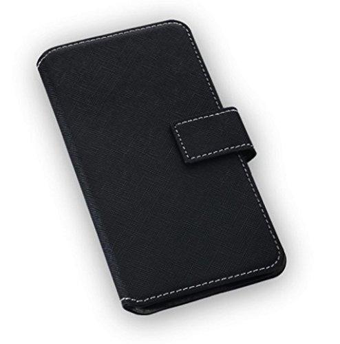 Gütersloher Shopkeeper Étui housse de haute qualité à rabat, couleur : noir, pour Samsung Galaxy S7