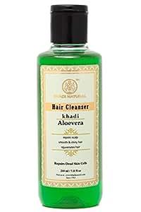 Khadi Natural Aloevera Herbal Hair Cleanser/Shampoo, 210ml