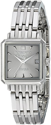ROBERTO BIANCI WATCHES Women's 'Modomora' Swiss Quartz Stainless Steel Casual Watch, Color:Silver-Toned (Model: RB18090)