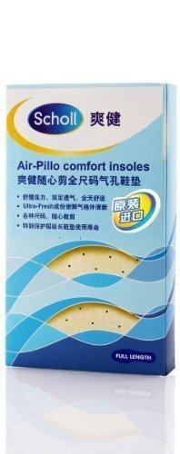 Scholl Air Pillo Komfort-Einlegesohlen, atmungsaktiv, 1 Paar