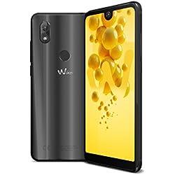 Wiko View2 Smartphone Portable débloqué 4G (Ecran: 6 pouces - 32 Go - Double Nano-SIM - Android) Anthracite