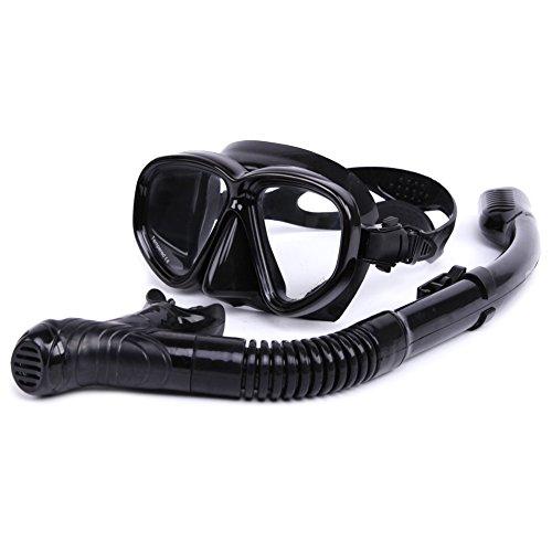 ballena-buceo-snorkel-apnea-mascara-de-snorkel-set-negro