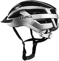 Livall MT1 Casque de vélo Intelligent avec Clignotants sans-Fil, écouteurs Bluetooth et Micro intégré pour appels et Talkie-walkie, et Alerte SOS