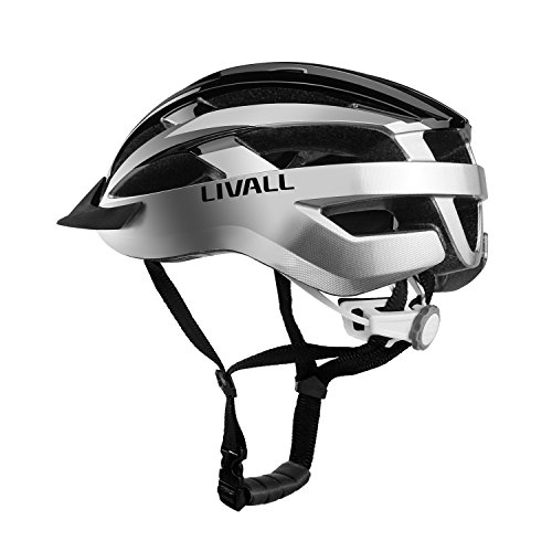 Livall MT1 Smart Bike Helmet,Wireless Turn Signals remote Tail Lights,Bluetooth Speakers,Build-in mic,Music&Call,Walkie-talkie, SOS Alert, CPSC&EN1078 Certified Cycling...