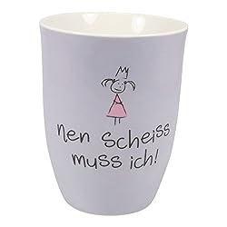 """Mea-Living Becher """"nen scheiss muss ich"""""""