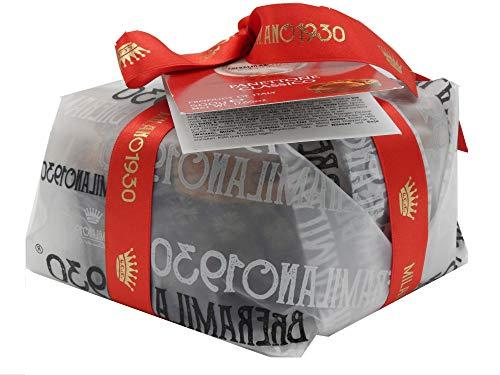 Breramilano 1930 100% made in italy panettone maestri pasticceri , classico e autentico con profumata uvetta e dolci canditi 500gr