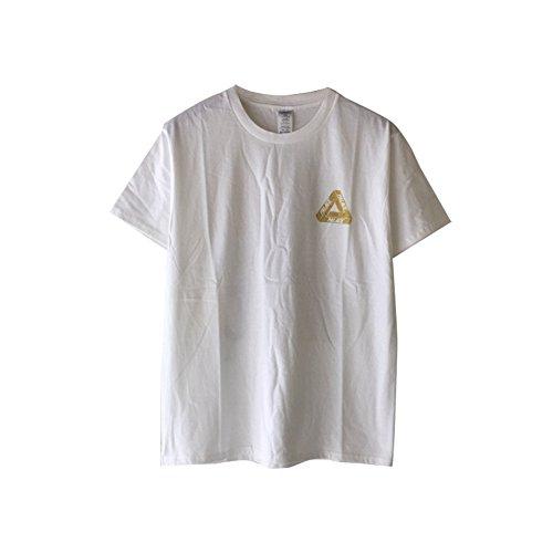 BOMOVO Herren PLACE Value weight T Rundhals T-Shirt Weiß