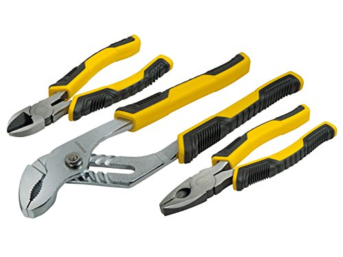 Preisvergleich Produktbild Stanley Zangenset Control-Grip, 3-teilig, 1 Stück, STHT0-74471