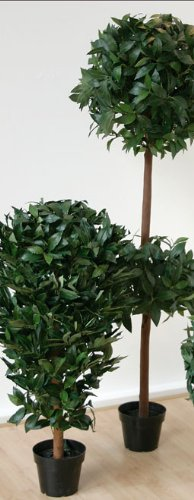 artplants Kunst Lorbeerbaum, 90 cm – Künstlicher Baum