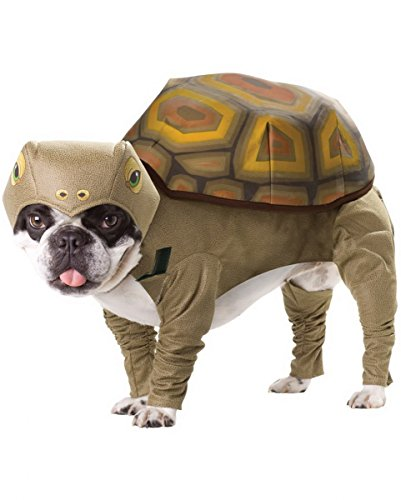 Turtle Tierkostüm für Hunde 3-tlg. | Schildkrötenkostüm One Size S