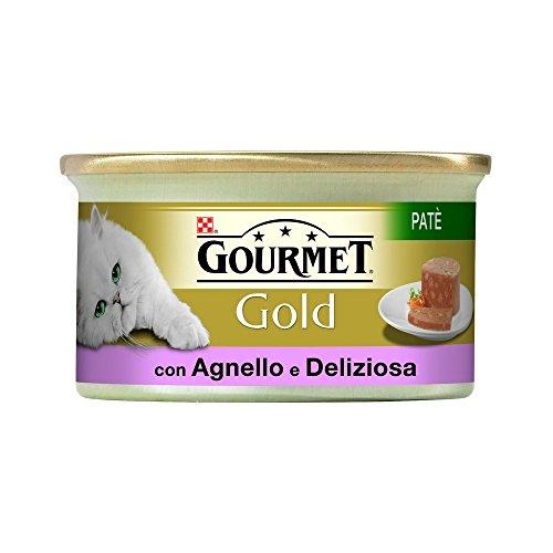 GOURMET GOLD Paté de cordero y pato estofado gr85 Comida mojado de