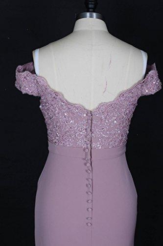 Lange Meerjungfrau Abschlussball Kleid weg von den Schulter Abend ...