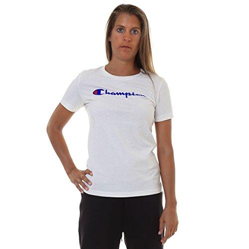Crewneck InstitutionalsMaglietta Donna Shirt Champion T POZn0wkXN8