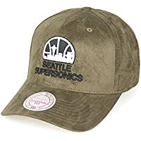 Seattle Super Sonics – Mitchell & Ness – snapback cap Men's Cap – HWC Suede – SUEDE EFFECT – NBA Basketball