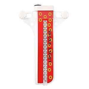 OUTAD Wasserdicht 30-LED Fahrrad Felge Lichter für MTB Rad Gummireifen from OUTAD