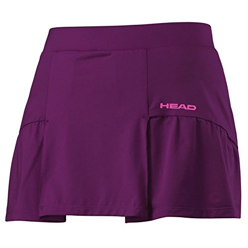 Basic Club (Head Tennisrock Club Basic Skort Damen, purple (S))