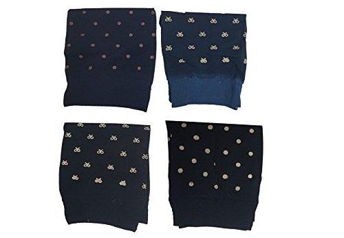Juego de 3pares calcetín calcetines Medias corto diseño aleatorio lazo lunares calcetines talla única lencería