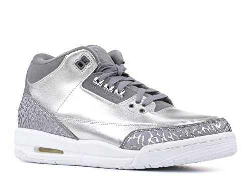 Nike Air Jordan 3 Retro Womens HC 'Chrome' - AA1243-020 - Size 11 -