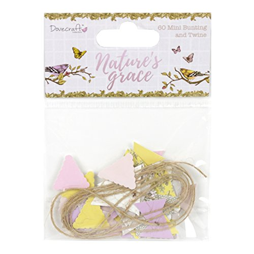 Dovecraft Nature's Grace Collection - Mini Bunting & Twine