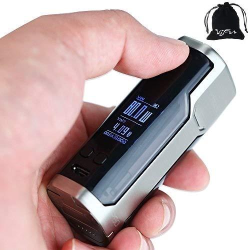 Box Sinuous P80 Silver WISMEC - Sans nicotine ni tabac - Vente interdite au  moins de 18 ans - AMAVAPE