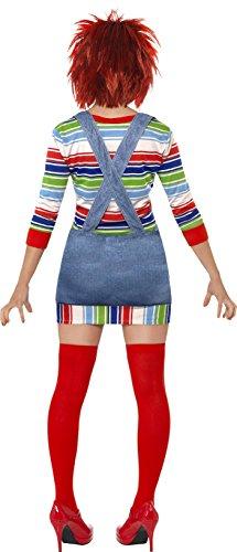 Imagen de smiffy's  disfraz de chucky para mujer, talla s 39099s  alternativa