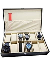 Watch Box 12 Slots by House of Quirk - Black