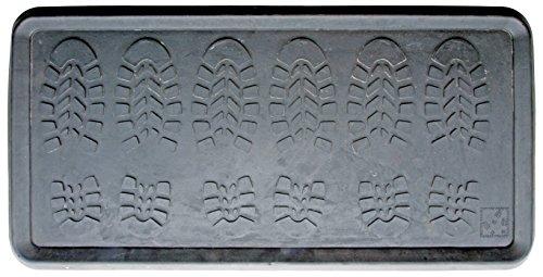 Esschert Design Stiefelschale, schwarz, 80 x 40 x 2.2, LH159