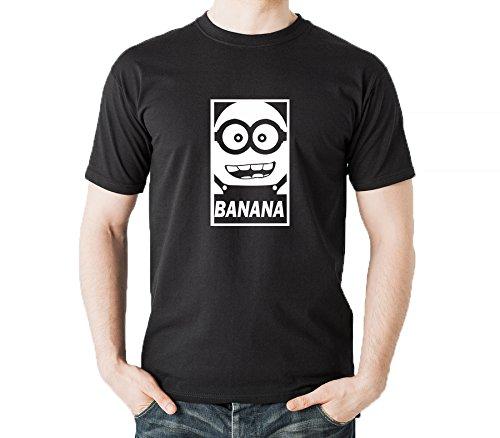 Teecreep Minion I Love Banana Cotton T-shirt  available at amazon for Rs.599