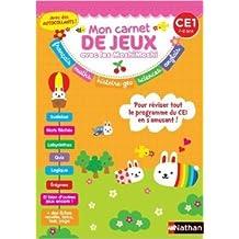 Mon carnet de jeux Moshi-Moshi CE1 de Claire Bertholet,Stéphanie CHICA ( 25 avril 2014 )