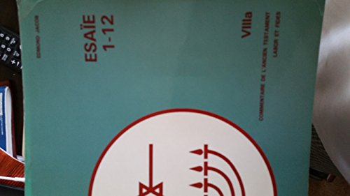 Esaie 1-12