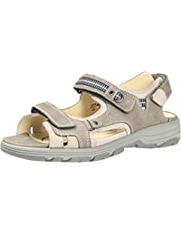 Dames Waldläufer sandale Herki 361004-691-395 pietra gris stein