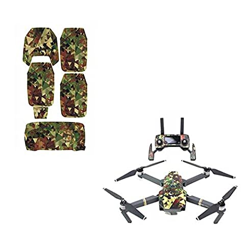 Feicuan Decoration Waterproof Sticker Decal Skin Set for DJI Mavic Pro Drone Controller -